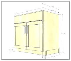 Standard Kitchen Base Cabinet Sizes Chart Kitchen Cabinet Sizes Chart Partaktiv Info