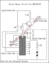 electronic circuits projects acirc blog archive rs rs232 serial mouse circuit hmc8350ap