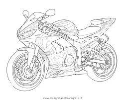 Disegno Moto Yamaha Da Colorare Idea Di Immagine Del Motociclo