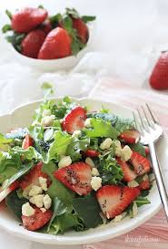 mixed green salad with strawberries. Fine Strawberries Today  On Mixed Green Salad With Strawberries D