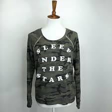 Sundry Sweatshirt Size 1 Small Womens Sleep Under The Stars Graphic Print Aa04 Ebay