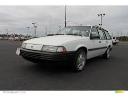 1994 Bright White Chevrolet Cavalier Wagon #62243798 | GTCarLot ...