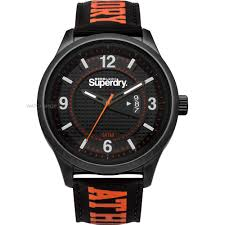 "men s superdry yokohama athletic watch syg171bo watch shop comâ""¢ mens superdry yokohama athletic watch syg171bo"