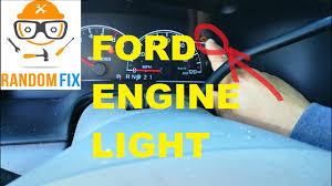 Ford Ranger Check Engine Light Blinking
