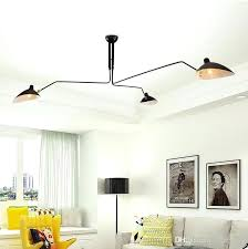 serge mouille chandelier lighting three arm rotating light home improvement ideas for kitchen