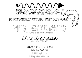 Teachers Newsletter Templates Get Back To School Ready With Editable Newsletter Templates