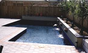Pools with black bottom