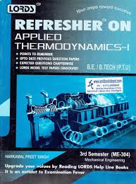 College Books : Lords Refresher on Applied Thermodynamics 1 ME 3rd ...
