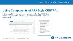 writing papers in apa style central jpg cb  apa