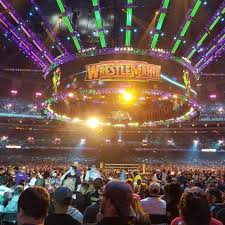 Wrestlemania Superdome Seating Chart Mercedes Benz Superdome Section 142r Row P Seat 18