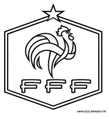Logo Football France Coloriages Pinterest Coloriage