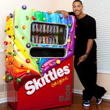 Create The Rainbow Skittles Vending Machine Simple Taste The Rainbow Run It Back