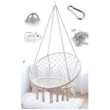 style macrame handmade hanging round hanging chair round hanging outdoor indoor style macrame handmade hanging chair hanging chair with stand pier one