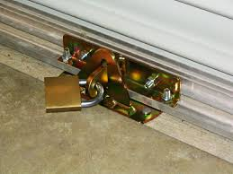 the sliding glass door lock