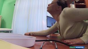 Czech doctor from Fake Hospital bangs sexy brunette patient.