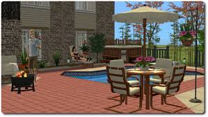 sims 2 backyard ideas. mod the sims patio and garden set a mixed bag of stuff for outdoors updated 112012 2 backyard ideas r