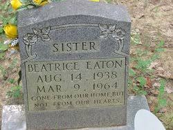 Beatrice Eaton Eaton (1938-1964) - Find A Grave Memorial