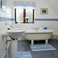 blue and white bathroom tiles cool blue and white bathroom tile ideas and pictures blue and blue and white bathroom tiles