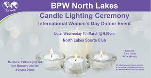 Candle Lighting 2018 Bpw Australia Bpw North Lakes Candle Lighting Ceremony 2018
