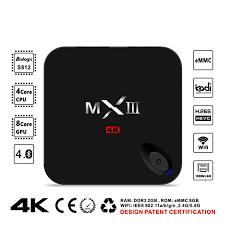 MXIII TV Box 1GB/8GB Amlogic S812 Quad Core CPU and Octa Core ARM Mali-450  GPU 4K H.265 Decoding 2.4G 5G WiFi HDMI