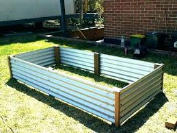 corrugated metal garden beds raised bed corrugated metal corrugated garden beds gardening corrugated iron raised bed