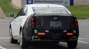 2018 cadillac hearse. wonderful cadillac 2018 cadillac xts spy shots in cadillac hearse