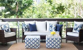 Best Blue Outdoor Sofa Blue Outdoor Sofa Pillows Design Ideas