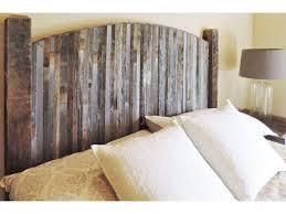 Amazon.com: Farmhouse Style Arched King Size Bed Barnwood Headboard ...