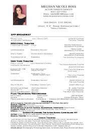 Dance Resume Unique Dancer Resume Sample Kazanklonecco