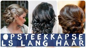 Opsteekkapsels Lang Haar