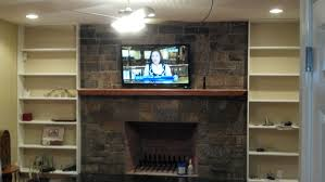 Small Picture Living Room Architecture Fireplace Surround Created Brick Veneer