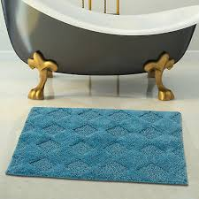 saffron fabs 2 piece 100 soft cotton bath rug set