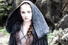 Sansa manteau à capuche