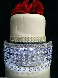inch gold wedding cake stand best stands images on fours bling hire