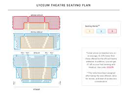 Lion King Theatre Seating Chart Lyceum Theatre London Best Seats Best In Travel 2018