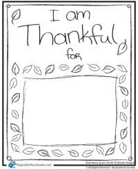 I Am Thankful For Coloring Pages Being Page Printable
