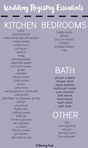 wedding registry list. How to Create the Perfect Wedding Registry
