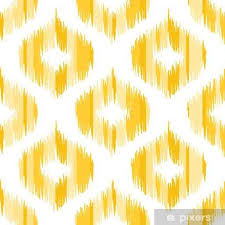 ikat fabric pattern abstract geometric pattern seamless vector background vector ilration
