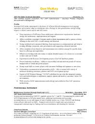 Sap Fico Resume Sample Sap Support Project Manager Resume Cover