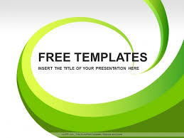 Ppt Templates Download Free Green Leaves Abstract Ppt Design Download Free Daily
