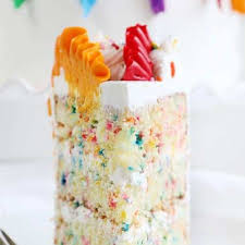 Sprinkles Cake I Am Baker