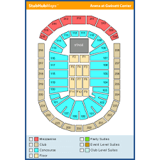 The Gwinnett Center Seating Chart 72 Bright Infinite Energy Center Capacity