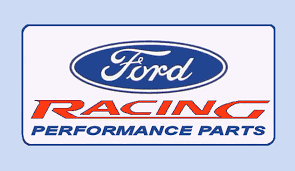 black ford racing logo. ford racing performance parts u003eu003e 1970 connecticut inspection sticker 20 00 bob hoyts classic black logo