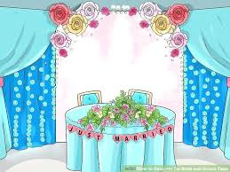 image titled decorate. Bride And Groom Table Decor Image Titled Decorate The Step A