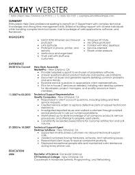 Technical Skills Examples Resume Technical Skills Examples