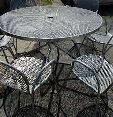 Patio Furniture Smith & Hawken by EMU Italy Table and Chairs EBTH