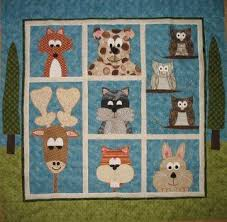 Animal Quilt Patterns Extraordinary Woodland Animals Quilt Pattern Google Search Quilt Inspiration