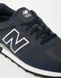 new balance outlet. new balance 430 trainers in blue men,new outlet store,best discount price