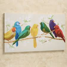 astonishing on a wire wall decor unique colorful canvas art picture for bird styles and trends on colorful birds canvas wall art with astonishing on a wire wall decor unique colorful canvas art picture