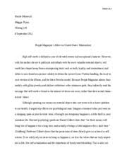 writing essay materialism jannat amarnani writing t a  6 pages moravcik